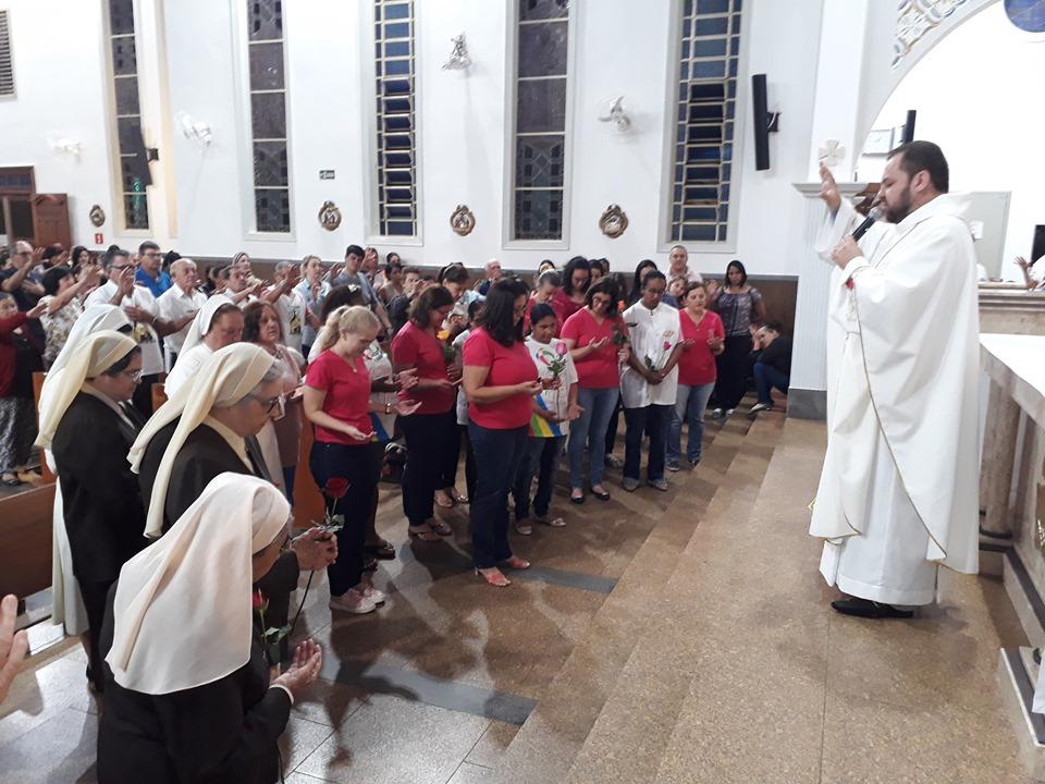 Missa em Devoção a Santa Terezinha Mês de Agosto de 2019