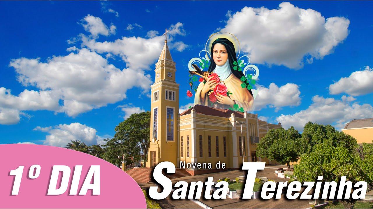 Novena de Santa Terezinha – Pe. Luciano Enes – 1º DIA