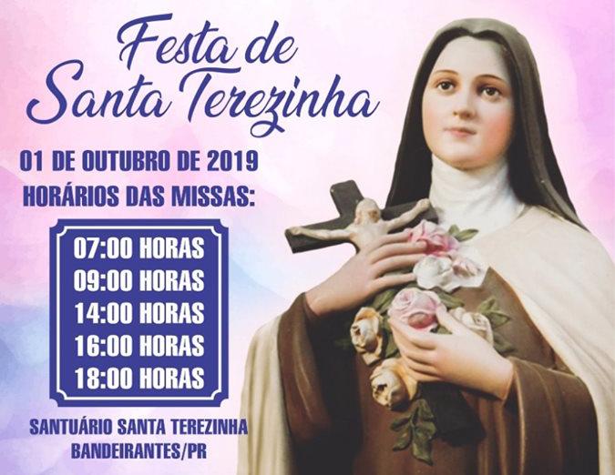 Novena das Rosas de Santa Terezinha do Menino Jesus