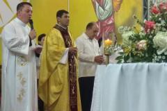 OSantuário Santíssimo Nome de Jesusrecebeu a visita da Relíquia de Santa Terezinha do Menino Jesus