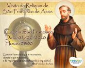 VISITA DA RELÍQUIA DE SÃO FRANCISCO