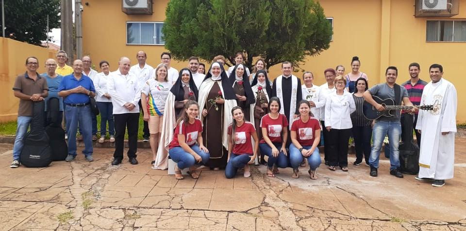 ENTREGA DAS ROSAS 01 DE JANEIRO 2020